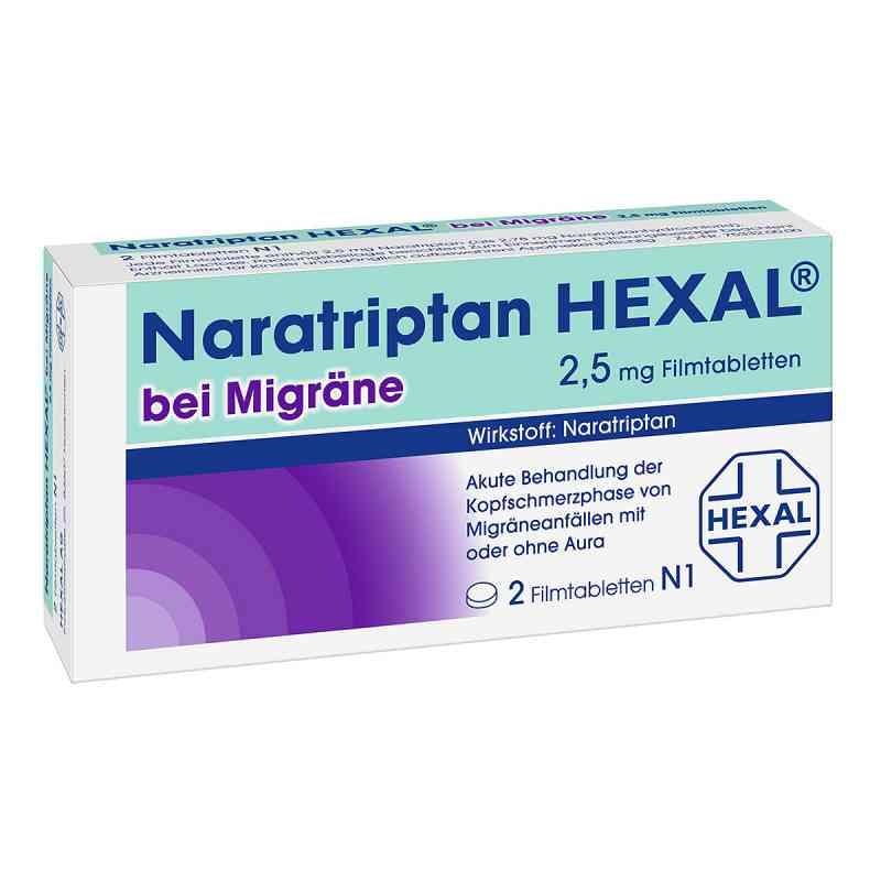 Naratriptan Hexal bei Migraene 2,5 mg Filmtablettten  zamów na apo-discounter.pl