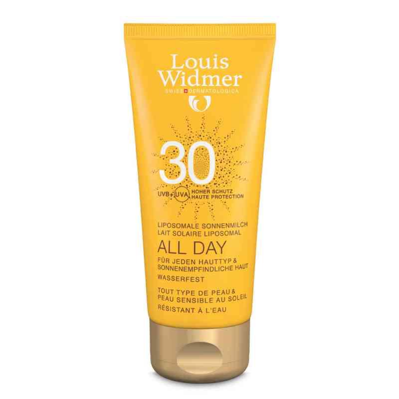 Louis Widmer All Day mleczko ochronne UV30, lekko perfum  zamów na apo-discounter.pl