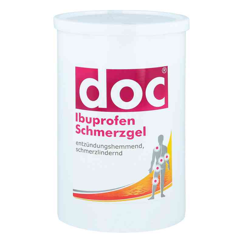 Doc Ibuprofen Schmerzgel Spenderkartusche  zamów na apo-discounter.pl