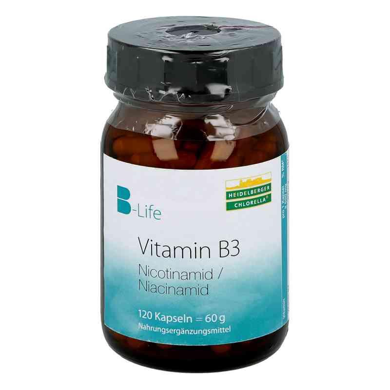 Vitamin B3 Nicotinamid kapsułki 120 szt. od Heidelberger Chlorella GmbH PZN 09460772