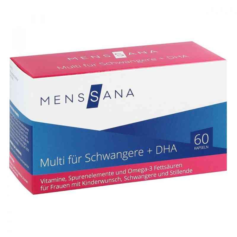 Multi Fuer Schwangere + Dha Menssana Kapseln zamów na apo-discounter.pl