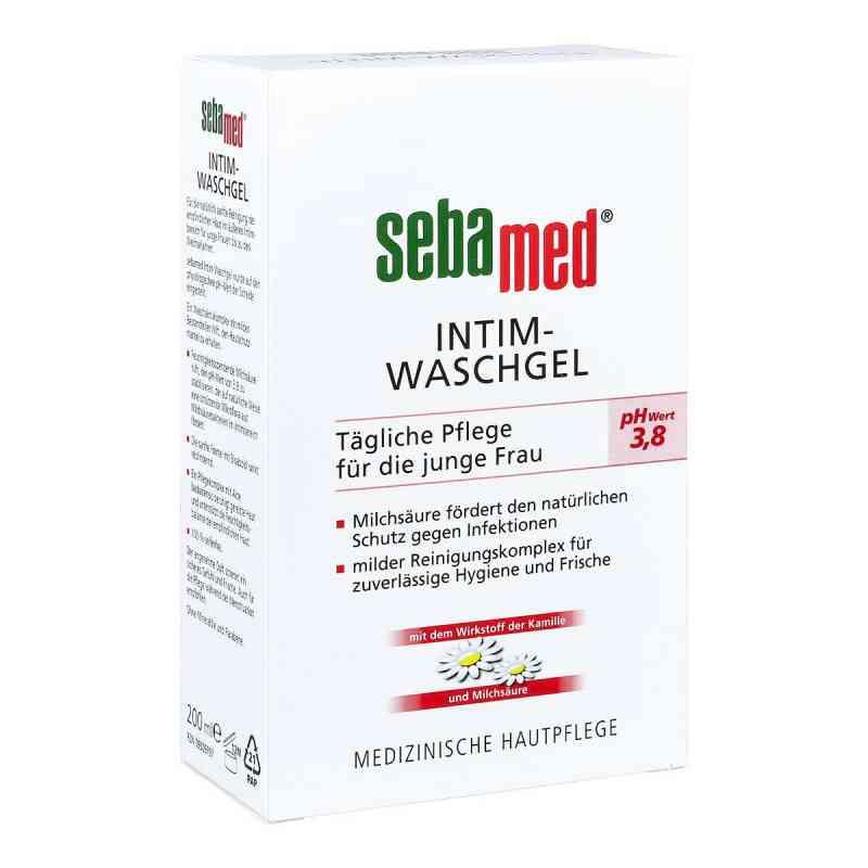 Sebamed Intim Żel do pielęgnacji intymnej pH 3,8 zamów na apo-discounter.pl