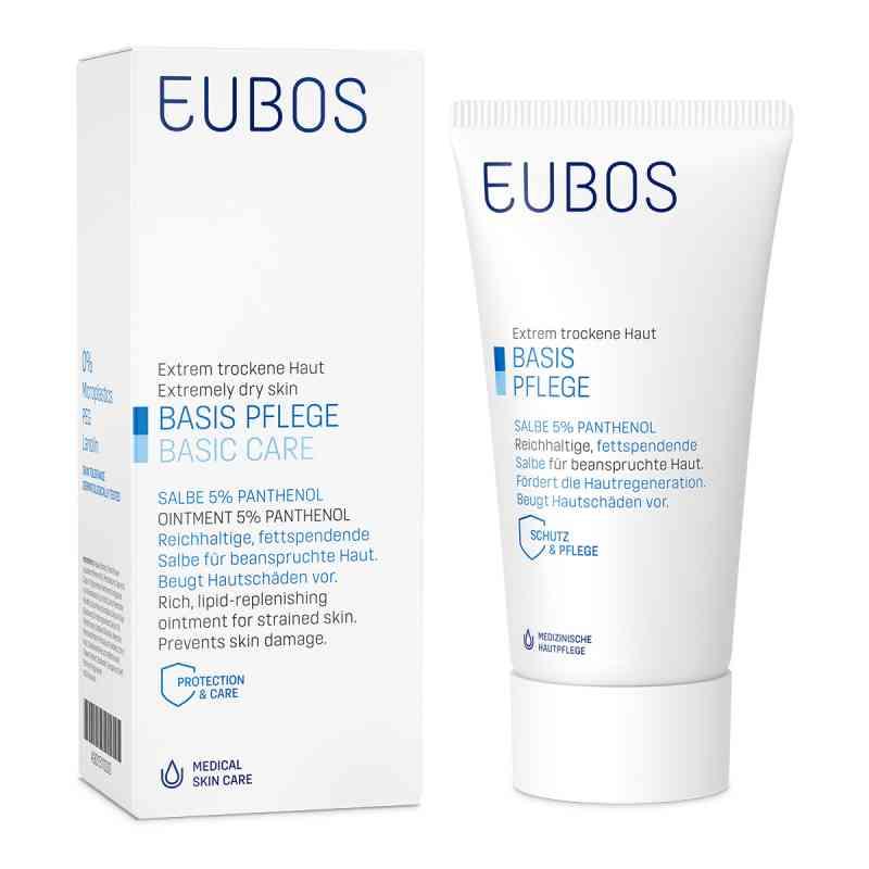 Eubos maść z pantenolem 5% skóra sucha  zamów na apo-discounter.pl
