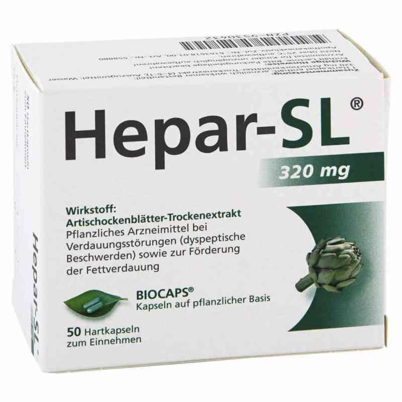 Hepar-SL 320 mg Kapsułki twarde  zamów na apo-discounter.pl