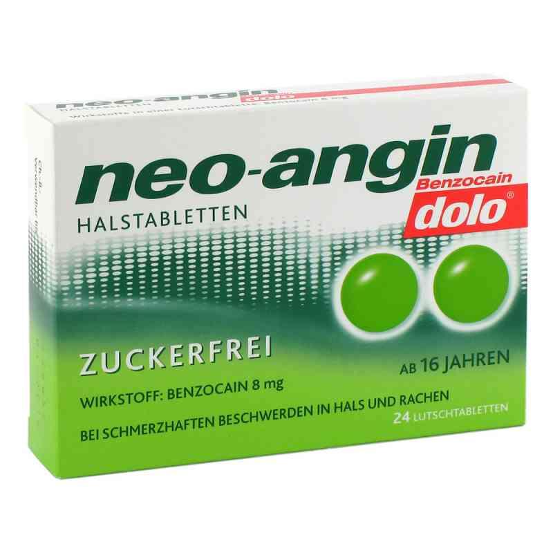 Neo Angin Benzocain dolo Halstabletten zuckerfrei zamów na apo-discounter.pl