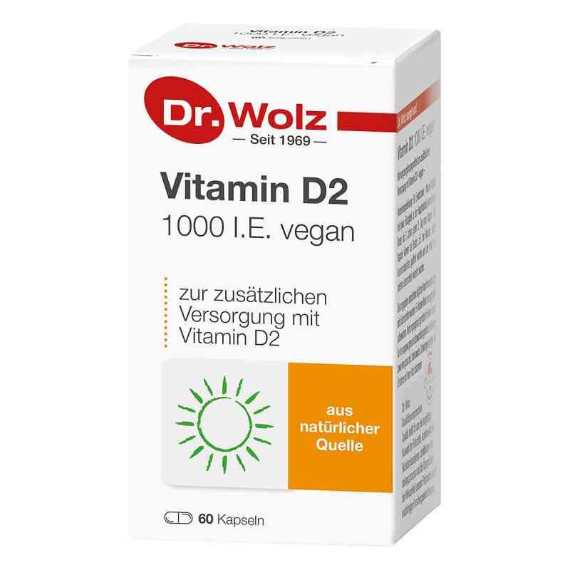 Dr Wolz Witamina D2 1000 I.E. vegan kapsułki  zamów na apo-discounter.pl