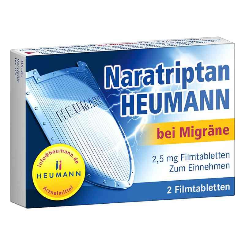 Naratriptan Heumann bei Migraene 2,5 mg Filmtabletten  zamów na apo-discounter.pl