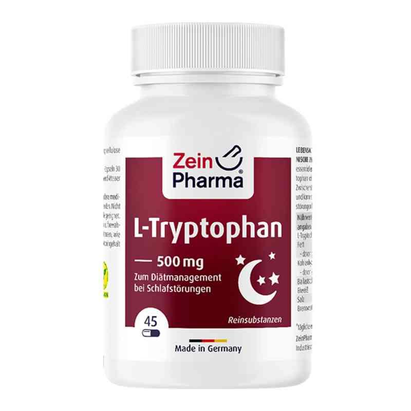 L-tryptophan 500 mg aus Fermentation Kapseln  zamów na apo-discounter.pl