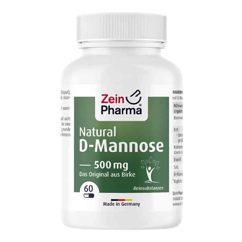Natural D-mannose 500 mg Kapseln zamów na apo-discounter.pl