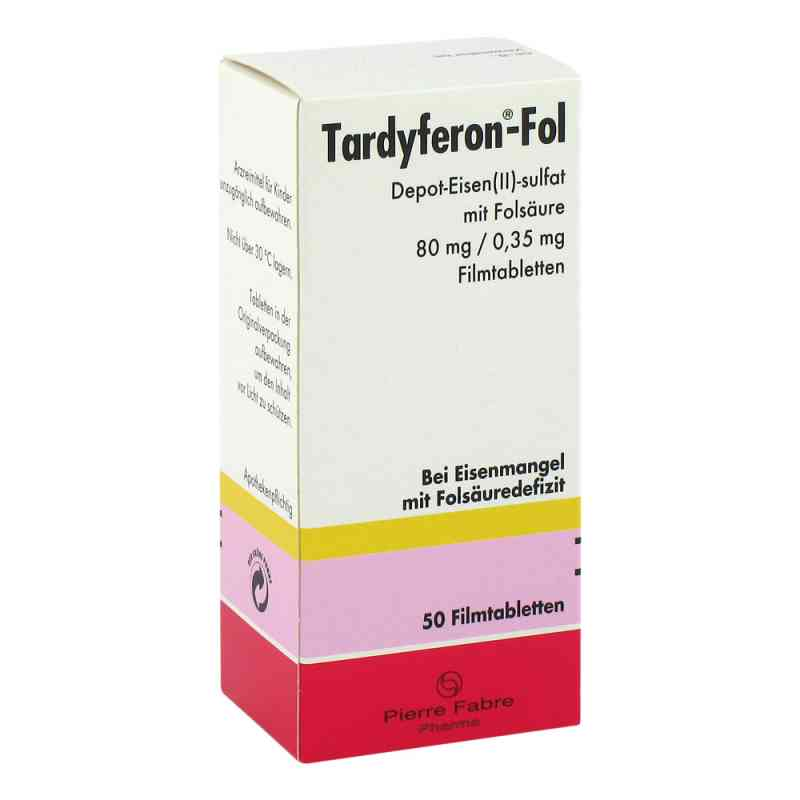 Tardyferon-fol Depot tabletki powlekane 80 mg  zamów na apo-discounter.pl