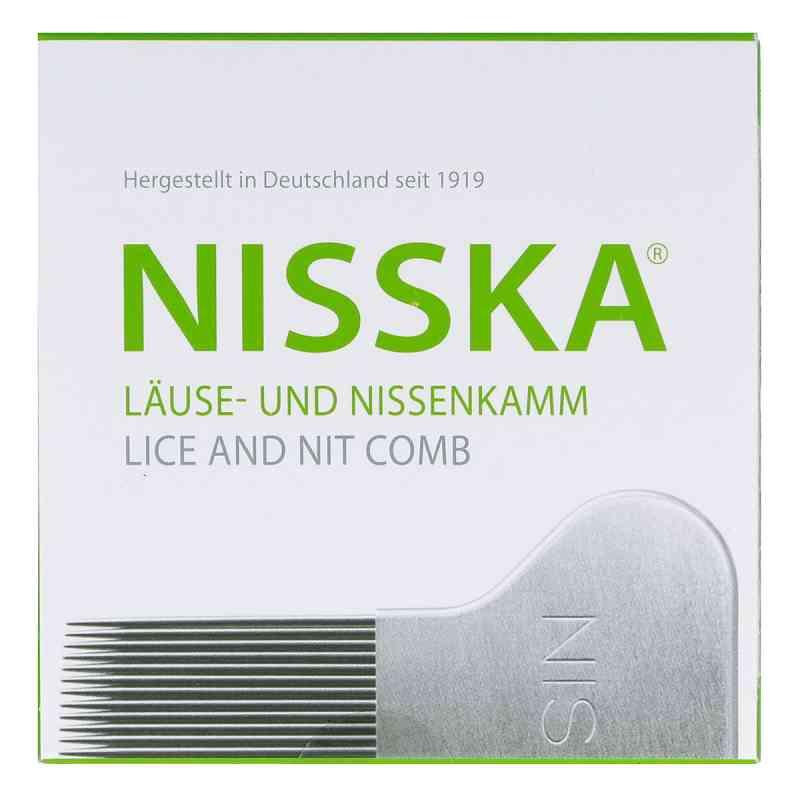 Nisska Laeuse- und Nissenkamm Metall  zamów na apo-discounter.pl