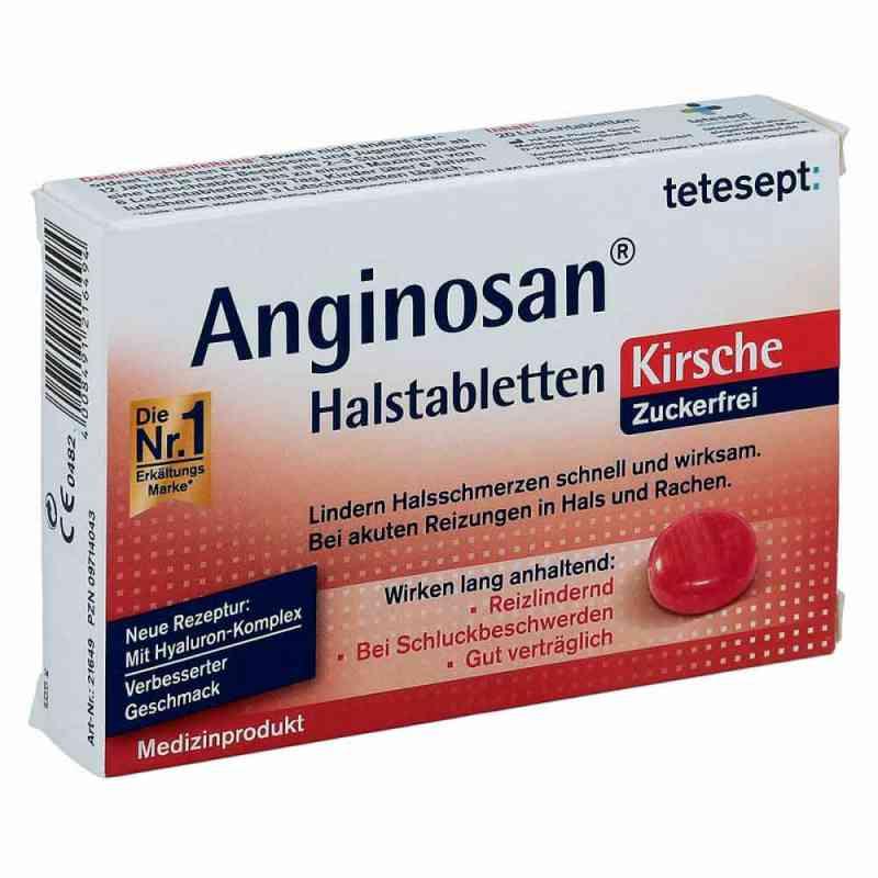 Tetesept Anginosan Tabletki na gardło, bez cukru  zamów na apo-discounter.pl