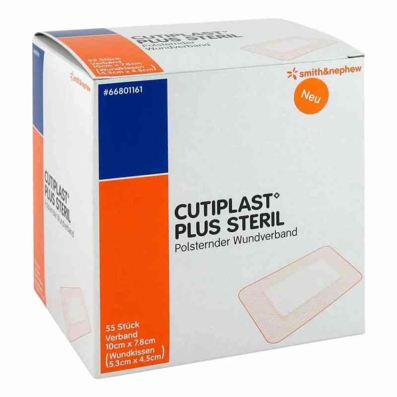 Cutiplast Plus Steril 7,8x10 cm Verband  zamów na apo-discounter.pl