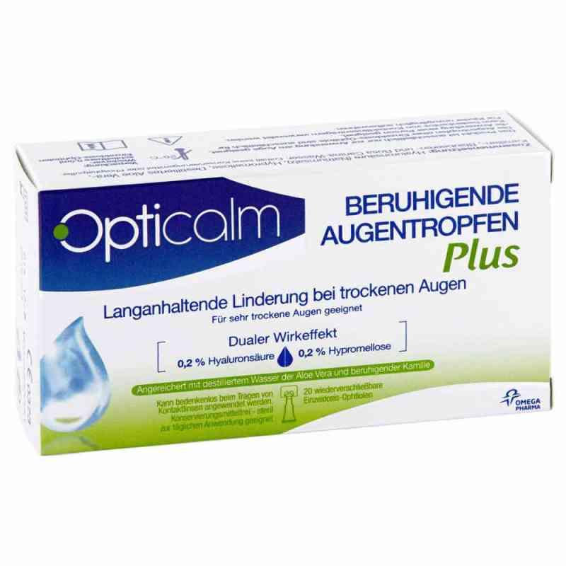 Opticalm kojące krople do oczu Plus  zamów na apo-discounter.pl