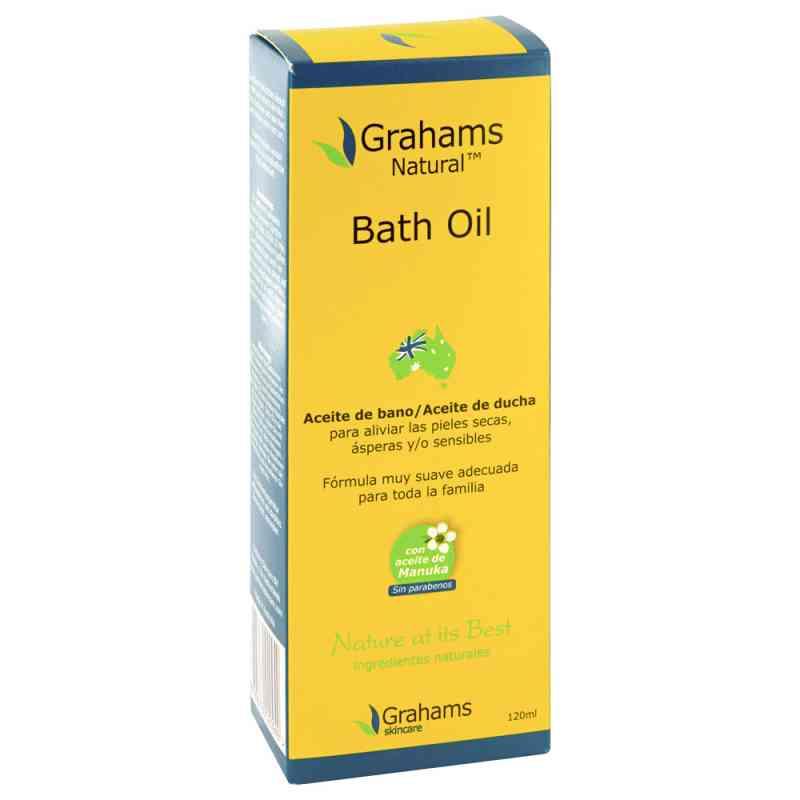 Grahams Natural olejek do kąpieli  zamów na apo-discounter.pl