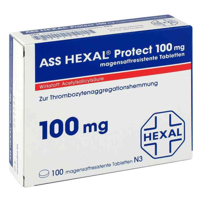 Ass Hexal Protect 100 mg magensaftresistent    Tabletten zamów na apo-discounter.pl
