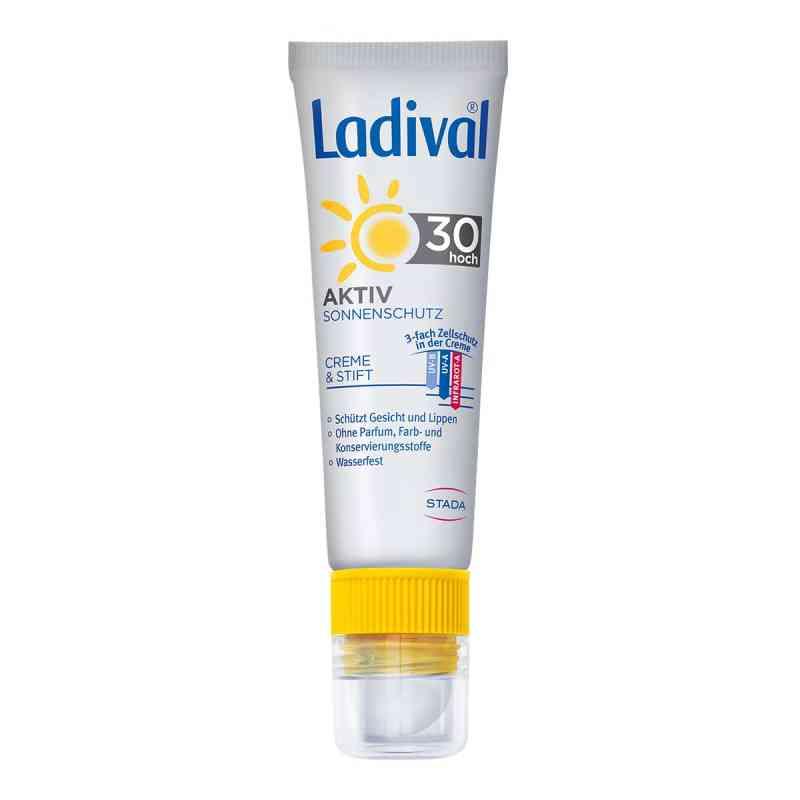Ladival Aktiv Sonnenschutz für Gesicht und Lipp. Lsf30  zamów na apo-discounter.pl