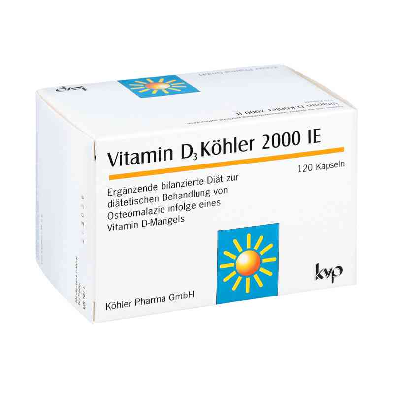 Witamina D3 Köhler  2000 I.E.,  kapsułki   zamów na apo-discounter.pl