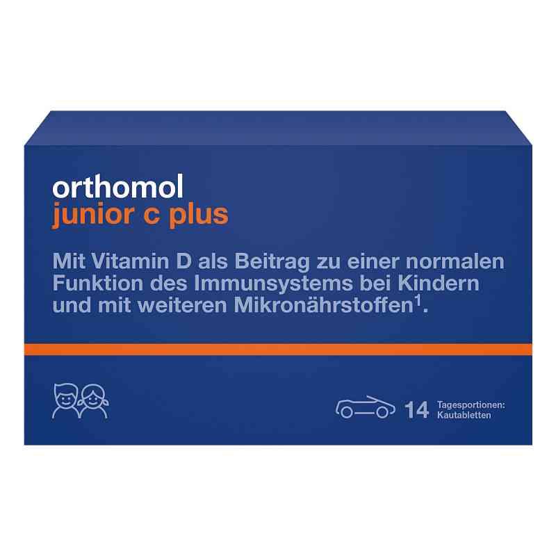 Orthomol Junior C plus tabletki do żucia  zamów na apo-discounter.pl