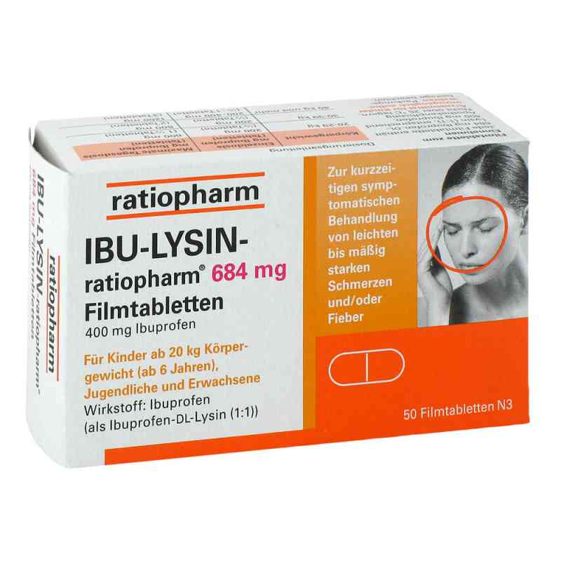 Ibu Lysin ratiopharm 684 mg Filmtabletten  zamów na apo-discounter.pl