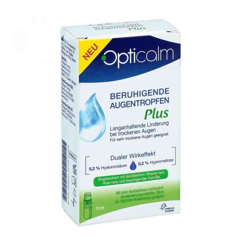 Opticalm beruhigende Augentropfen Plus  zamów na apo-discounter.pl