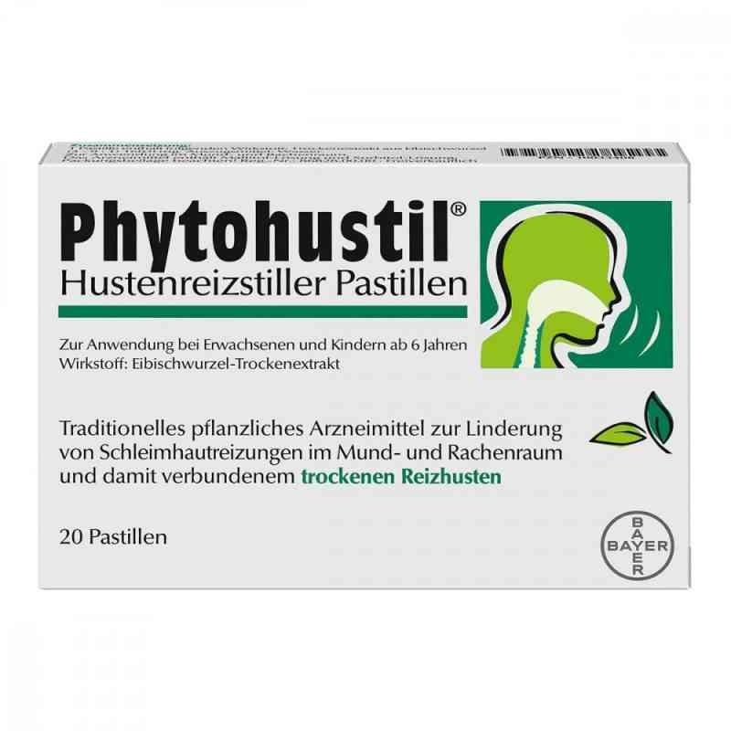 Phytohustil Hustenreizstiller Pastillen zamów na apo-discounter.pl