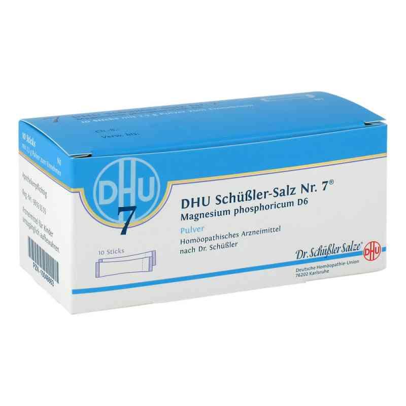 Biochemie DHU 7 Fosforan magnezu D6, saszetki  zamów na apo-discounter.pl