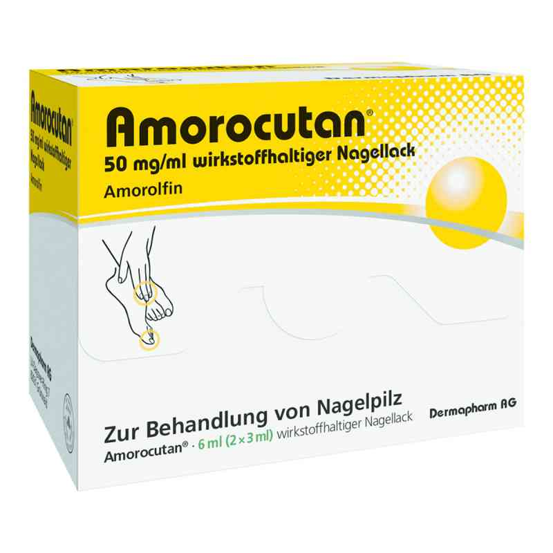 Amorocutan 50 mg/ml wirkstoffhaltiger Nagellack zamów na apo-discounter.pl