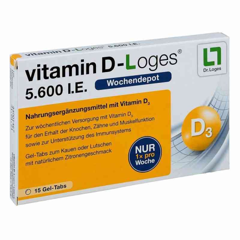 Witamina D-loges 5.600 I.e. tabletki do żucia zamów na apo-discounter.pl