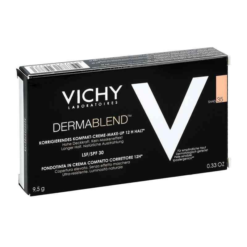 Vichy Dermablend kremowy podkład w kompakcie Nr 35  zamów na apo-discounter.pl