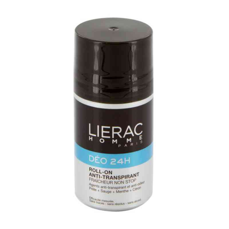 Lierac Homme Deo Roll-on 24h antyperspirant  zamów na apo-discounter.pl