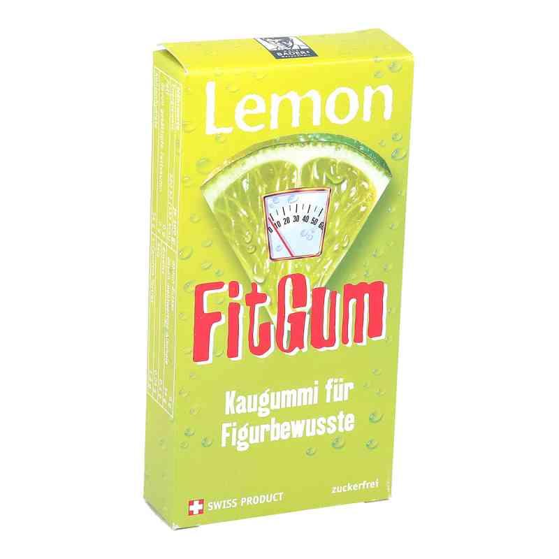 Lemon Fitgum cytrynowa guma do żucia z L-karnityną  zamów na apo-discounter.pl