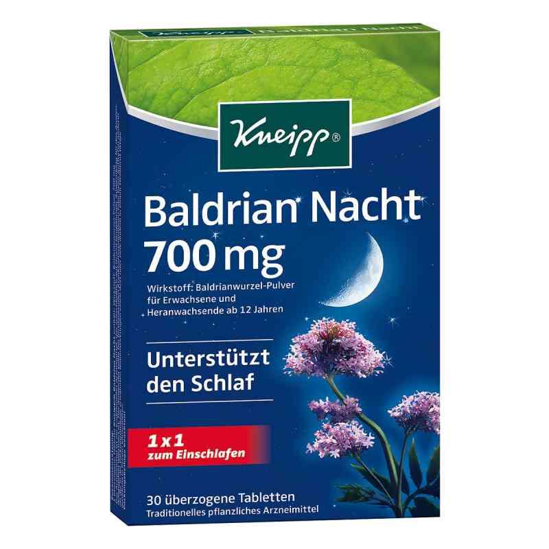 Kneipp Baldrian Nacht Tabletki powlekane z walerianą  zamów na apo-discounter.pl