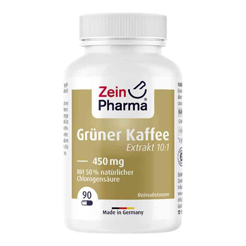 Grüner Kaffee Extrakt 450 mg Kapseln zamów na apo-discounter.pl