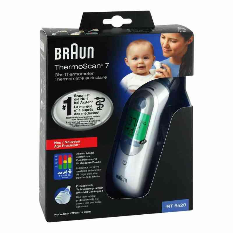 Thermoscan Braun 7 IRT 6520 termometr douszny zamów na apo-discounter.pl