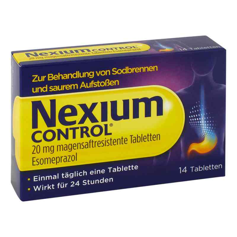 Nexium Control 20 mg magensaftresistente Tabletten  zamów na apo-discounter.pl