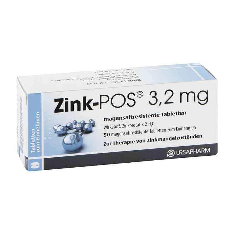 Zink Pos 3,2 mg magensaftresistente Tabletten  zamów na apo-discounter.pl