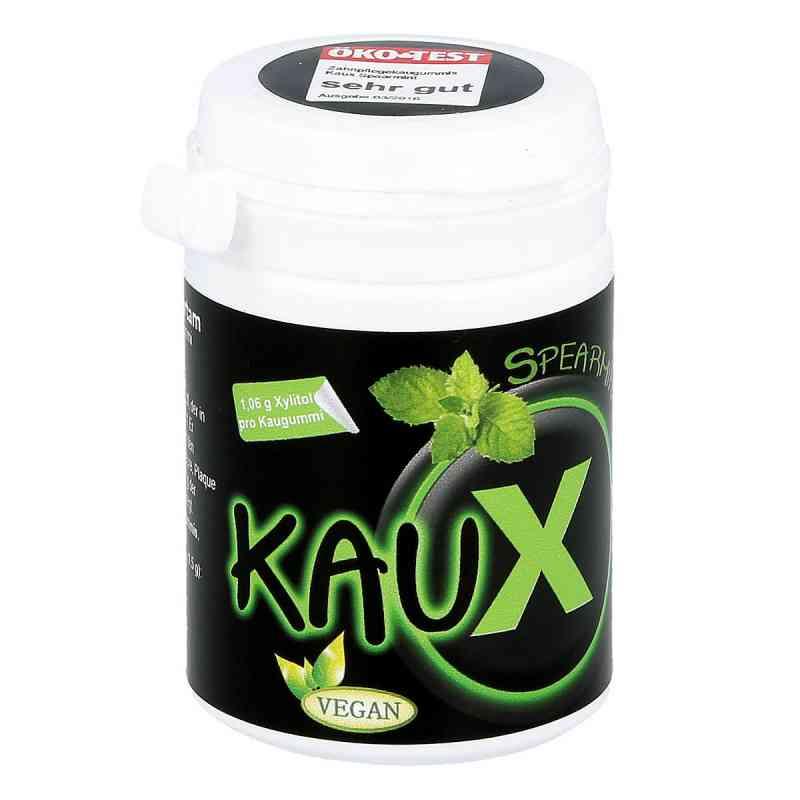 Kaux Zahnpflegekaugummi Spearmint mit Xylitol  zamów na apo-discounter.pl