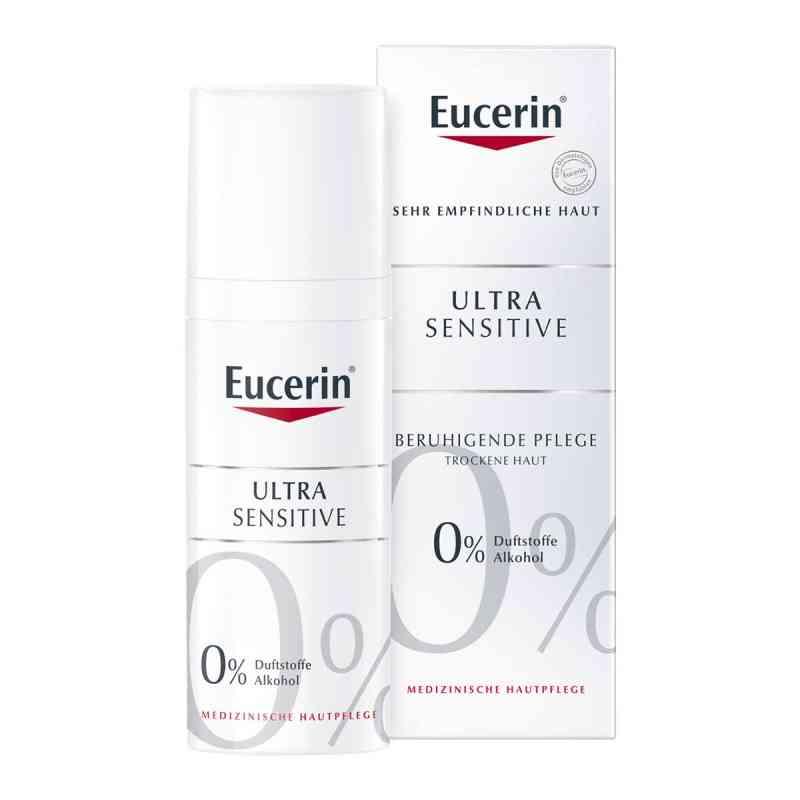 Eucerin UltraSensitive krem dla skóry  suchej   zamów na apo-discounter.pl