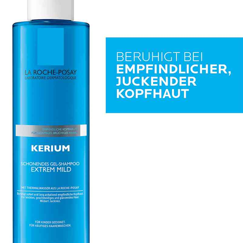 Roche Posay Kerium Extrem Mild Gelshampoo  zamów na apo-discounter.pl
