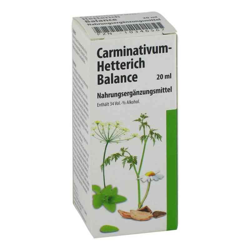 Carminativum Hetterich Balance Tropfen zum Einnehmen   zamów na apo-discounter.pl