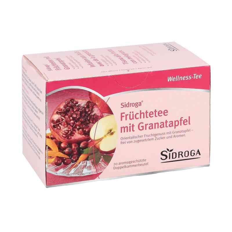 Sidroga Wellness Früchtetee mit Granatapfel Filterb.  zamów na apo-discounter.pl