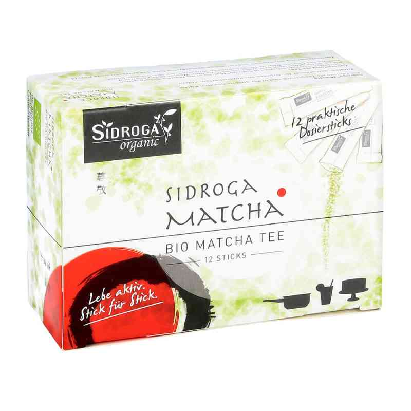 Sidroga organic Matcha Tee Sticks  zamów na apo-discounter.pl
