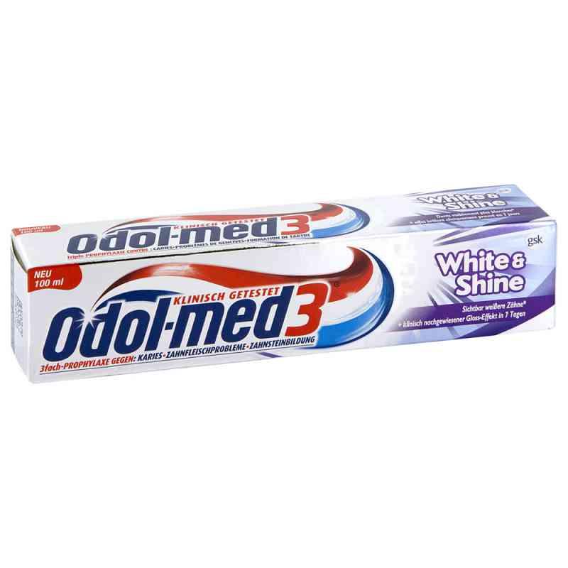 Odol Med 3 White & Shine Zahnpasta  zamów na apo-discounter.pl