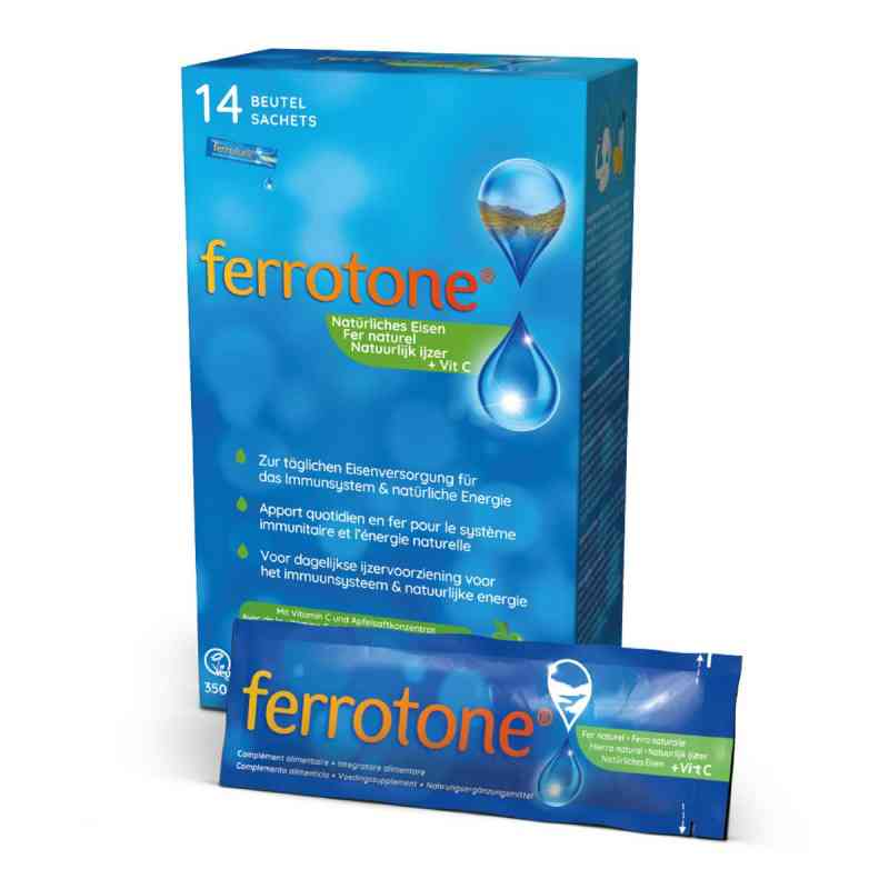 Ferrotone żelazo z koncentratem jabłkowym i witaminą C  zamów na apo-discounter.pl