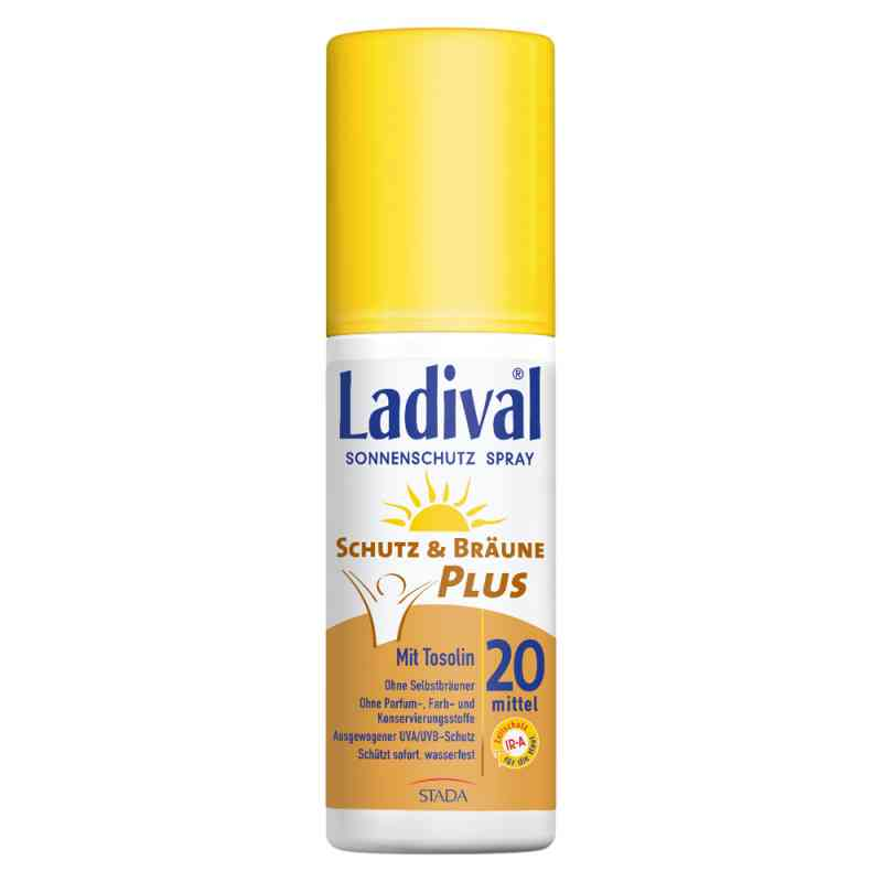 Ladival Schutz&Bräune spray LSF 20 zamów na apo-discounter.pl