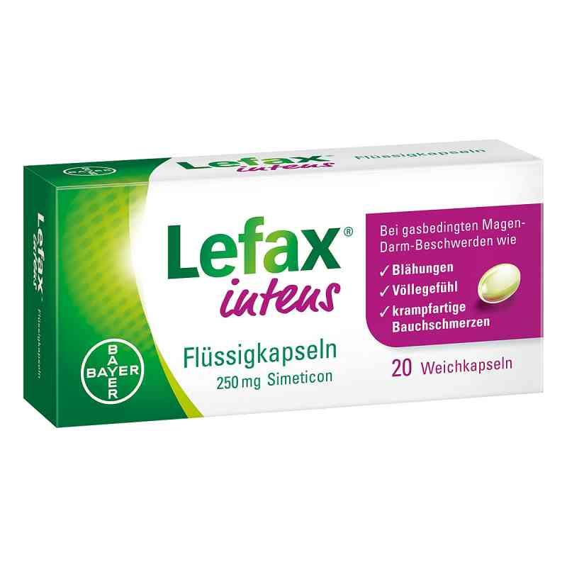 Lefax intens Kapsułki z symetykonem   zamów na apo-discounter.pl
