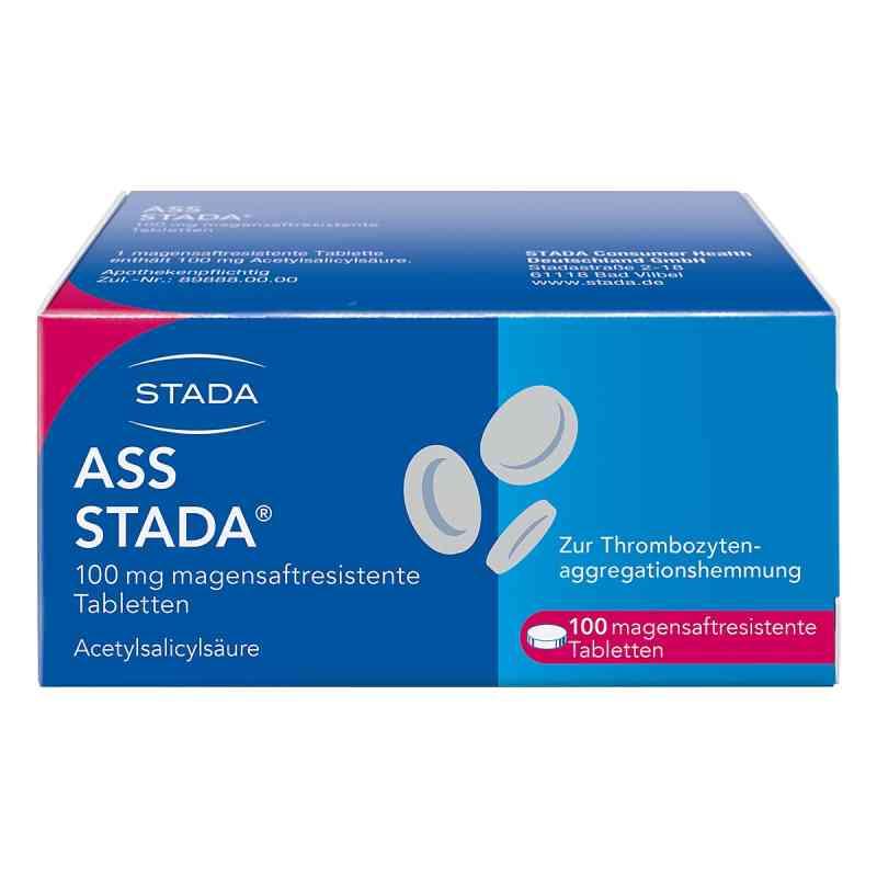 Ass Stada 100 mg magensaftresistente Tabletten  zamów na apo-discounter.pl