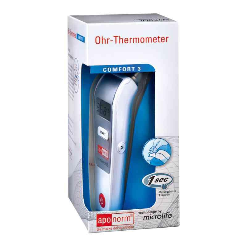 Aponorm Fieberthermometer Ohr Comfort 3 infrarot  zamów na apo-discounter.pl