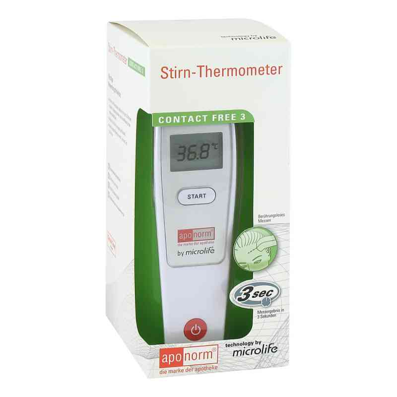 Aponorm Fieberthermometer Stirn Contact-free 3  zamów na apo-discounter.pl